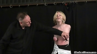 Tit Tortured Blondes Extreme Bdsm And Hardcore Submission