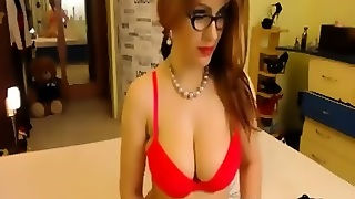 Sexy Cam Slut With Glasses