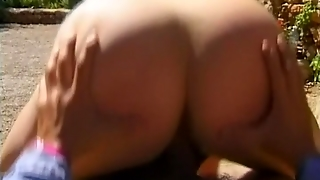 Huge Tits On A Chubby Blonde