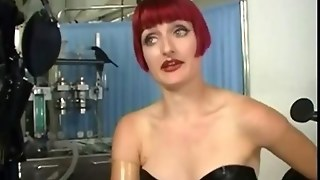 Humiliation Domination For Female In Pvc