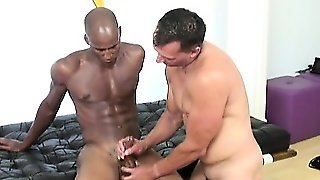 I\\'m Big, Black, And I\\'m Packing A Foot Of Black Cock In My
