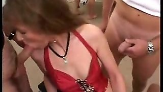 German Anal Gangbang Party