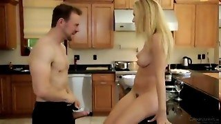 Natalia Starr Have Sex  In The Kitchen