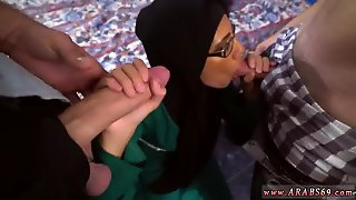 Arab Desperate Arab Woman Fucks For Money