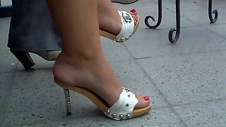 Russian Feet In Heels