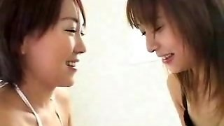 Hot Asian Girls Kissing