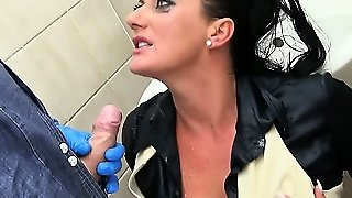 Pissing Fetish Babe Getting Pounded From Behind