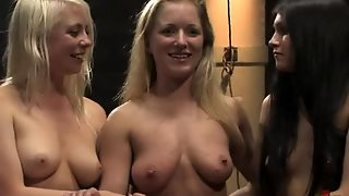 Bdsm Fun With Slutty Teens And Their Freshly Shaved Pussies