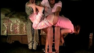 Moms Knee - Another Bedtime Spanking