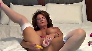 Peeing, Big Milf, Solo Toys, Big Tits Brunette, Masturbation With Toys, Very Very Big Tits, Its Big, Big Tits In
