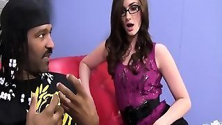Lily Carter Destroyed By A Big Black Cock