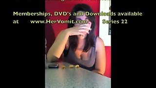 Vomit Girls Compilation Puking Puke Gagging Gag