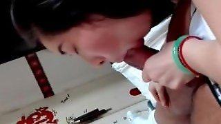 Asian Blowjob Cum In Mouth Amateur