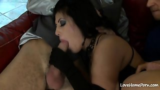 Big Tits Beauty Eating Dick And Riding Too