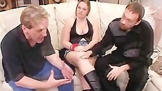 Cuckold Husband Vinnie Eats A Cream Pie