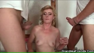 Mature, Hd, Old Young, Threesome, Double Penetration