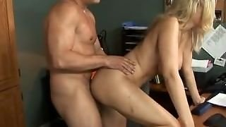 Julia Ann Desk Fuck