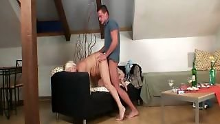 Blonde Mature Banged By Big Dick