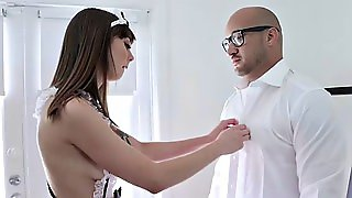 Shae Celestine In Servicing The Maid