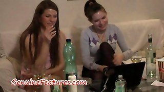 Czech Brunette Monika Gets Hot Ass Massage