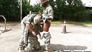 Desperate Military Man Meat Are Shaging Some Tight Ass Slamming Asses