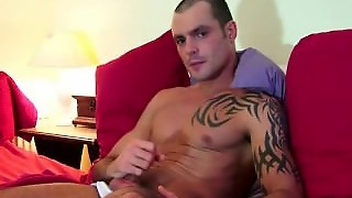 French, Sport Guy Get Wanked By A Gay Guy