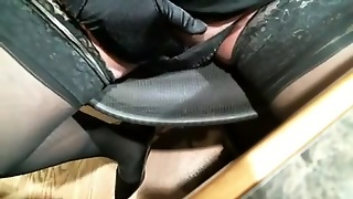 Masturbation Video With A Gay Crossdresser Wanking