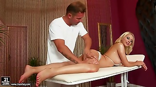 Oil, Big Tits, Babes, Massage, One On One, Mode, Creamed Cunt, Blonde
