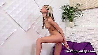 Gina Gerson And Her Big Dildo Play Solo