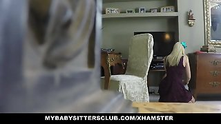 Mybabysittersclub - Babysitter Thief Gets Caught And Fucked