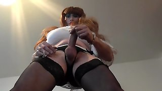 Big Tit Trannie Sheer Panties