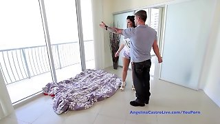 Busty Angelina Castro Fucking In New Apartment!