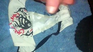 Cuming In Her Panties Outside Public Very Big Load