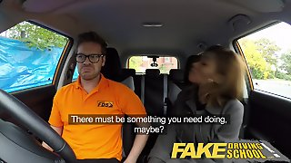 British Driving School Teacher Prepares Black Student For Test
