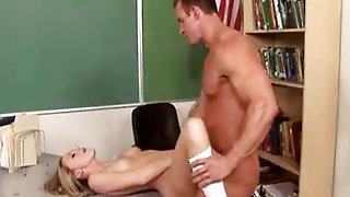 Hot Teen At School