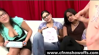 Group Of Cfnm Women Review Naked Male Cock