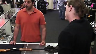 Amateur Straight Gets Naked For Gay Pawn Cash