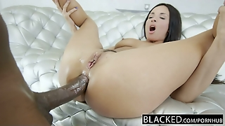 Blacked French Girl Hot Interracial Anal Sex