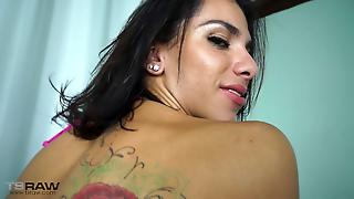Sexy Tranny From Brazil Blowjob And Anal