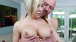 Sweet Eden Adams Came On A Massage To Relax A Little And Get Her Big Ass Fingered