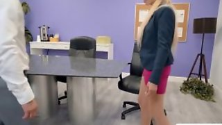 Office Staff Zoe Gets Pussy Fucked Hard By Seths Big Co