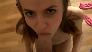 Super Sweet European Chick Beauty With Cock In Her Anal