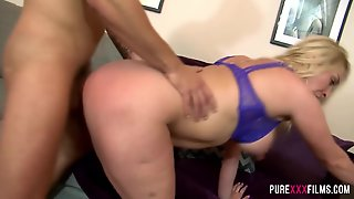 Busty Blonde Cheating Wife