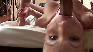 Russian, Crazy, Blonde, Pussy, Asshole, Slut, Threesome, Hd
