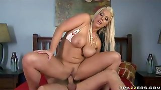 Blonde Pornstar And Her Lust For Anal Sex