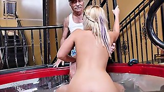 Teen Kenzie Gr N Fucks Old Man