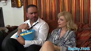 Real Milf Banged Deeply In Cuckold Action