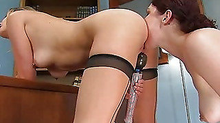 Head Mistress Madeline & The Anal Whore