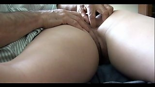 Spanking And Fingering Brandy's Ass