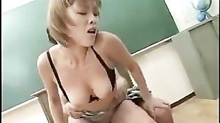 Asian Teen With A Hairy Tight Pussy